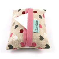 Cute Hearts Pocket Tissue Cover
