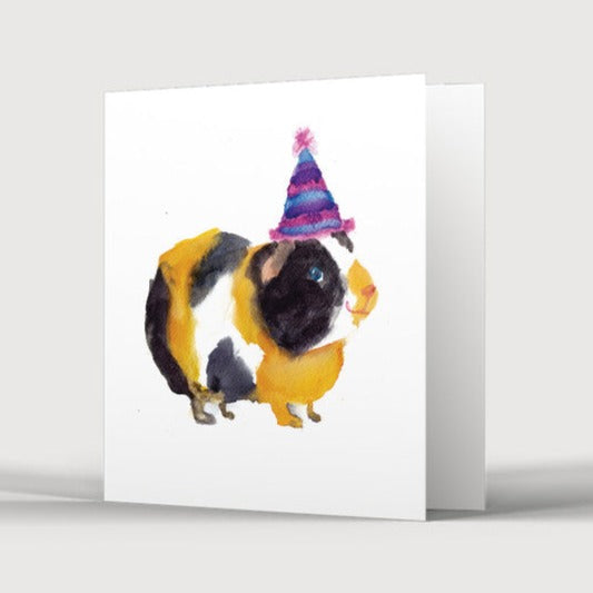 Party Guinea Pig Card
