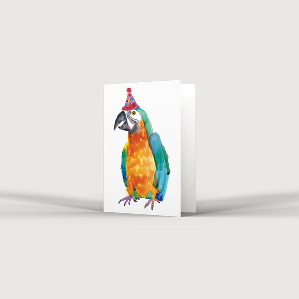 Party Parrot Card