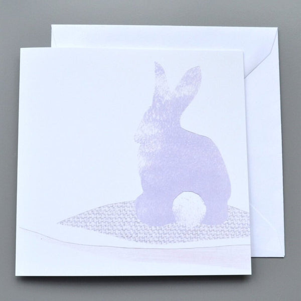 Pastel Rabbit Card