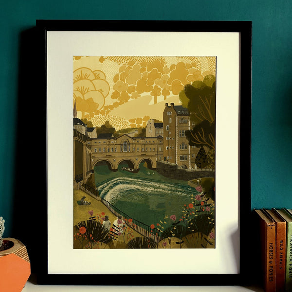 Bath Pulteney Bridge Print