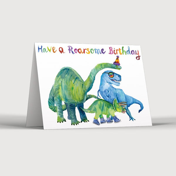 Roarsome Birthday Card