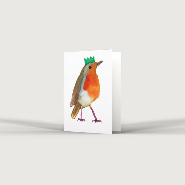 Party Robin Card