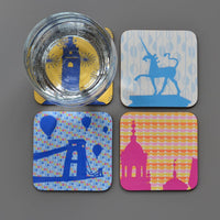 Set of 4 Bristol Coasters
