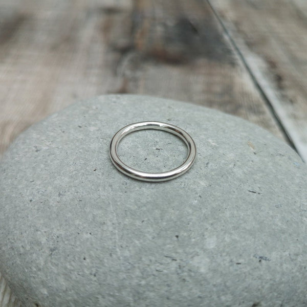 Sterling Silver Ring Band / Stacking Ring