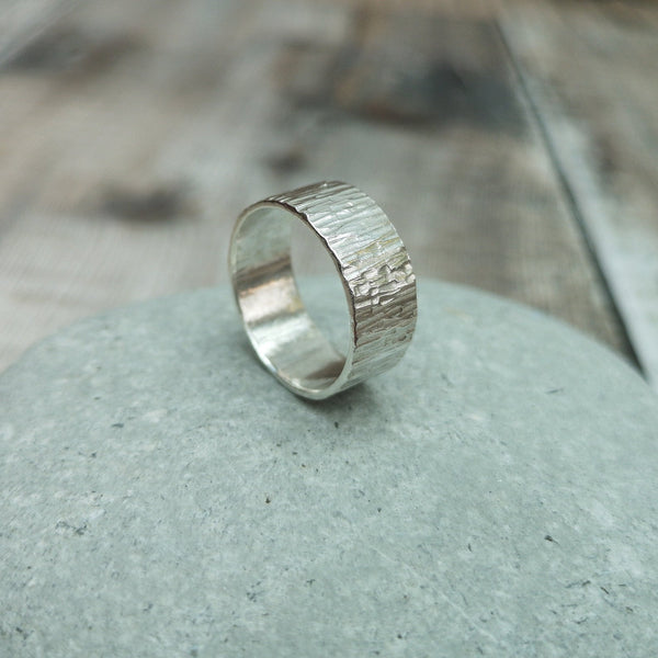 Sterling Silver Wide Ring / Thumb Ring