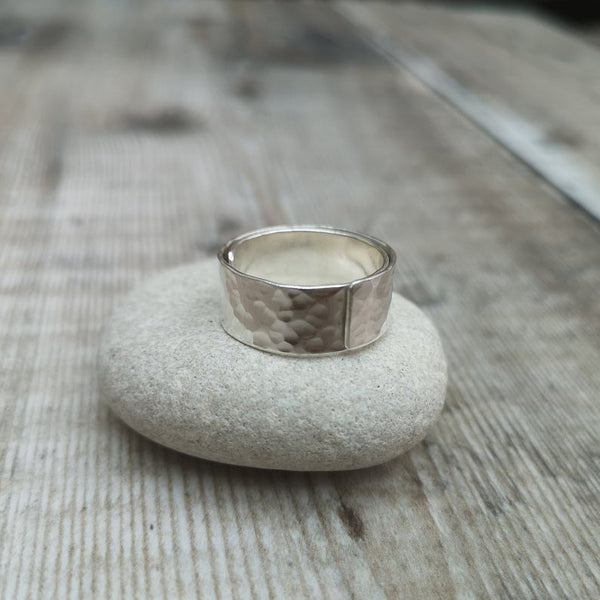 Sterling Silver Wide Ring