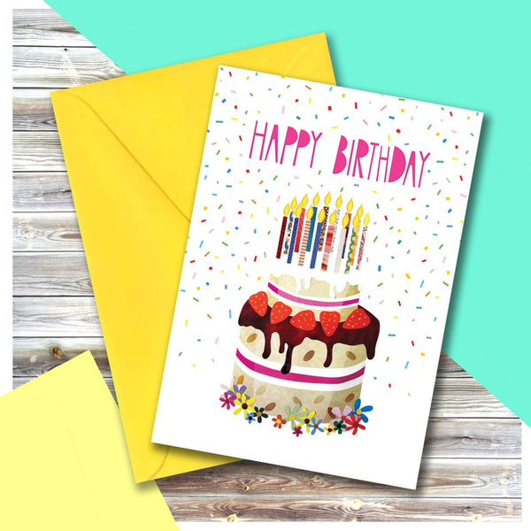 Super Cake Greeting Card