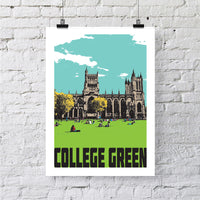 College Green Print