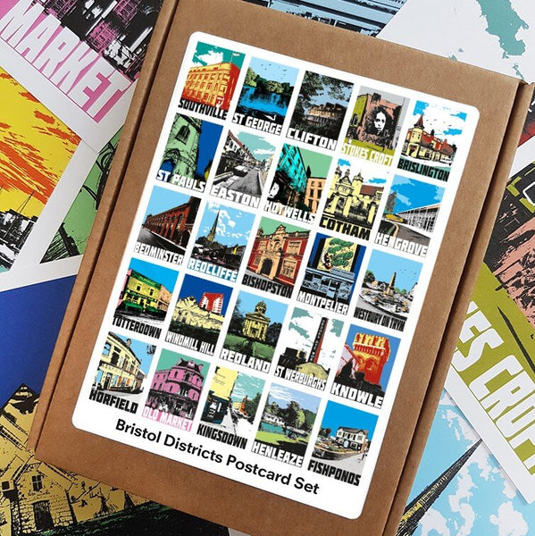 Bristol Districts Postcard Set