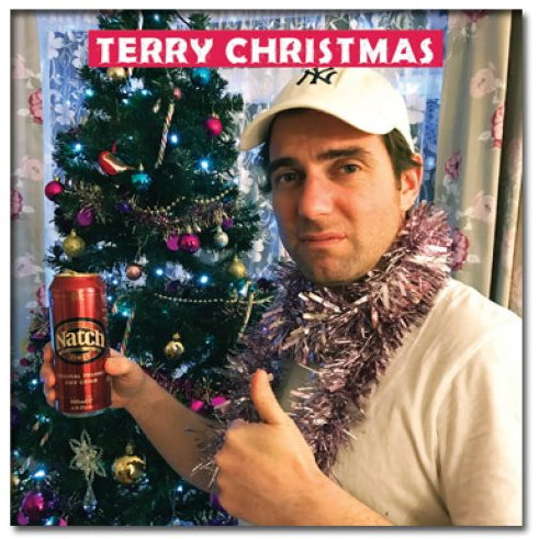 'Terry Christmas' Christmas Card starring Bristol's Terry the Odd Job Man