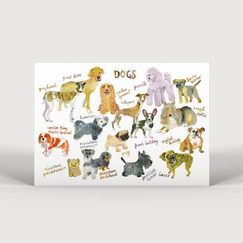The Dogs of Frome Print