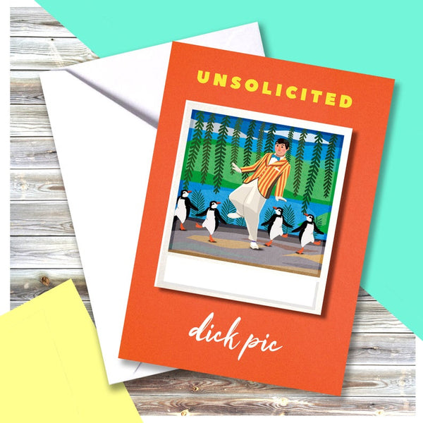 Unsolicited Dick Pic Card