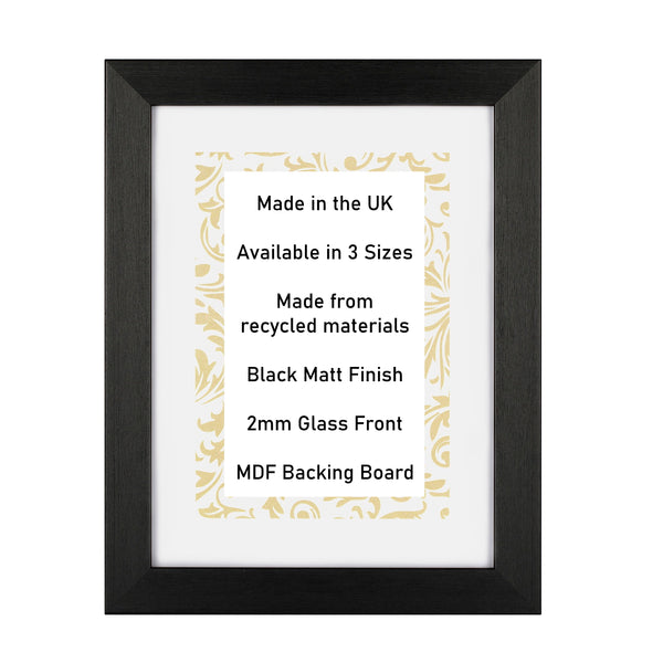 Click & Collect Picture Frames, responsibly made in the UK