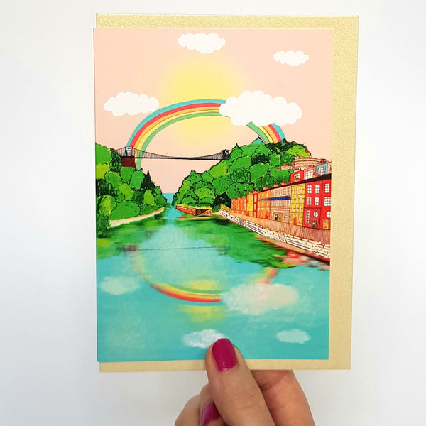 Bristol Rainbow Card