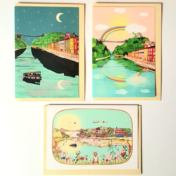 Multipack of Bristol Cards