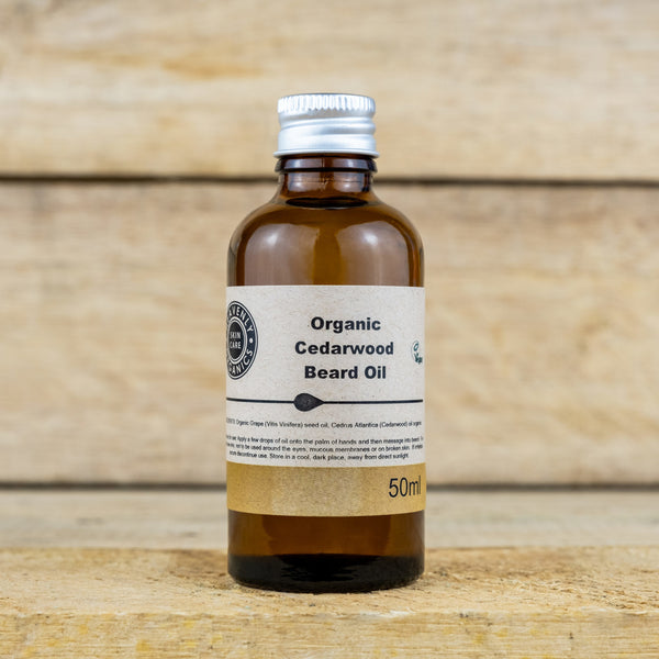 Cedarwood Organic Beard Oil