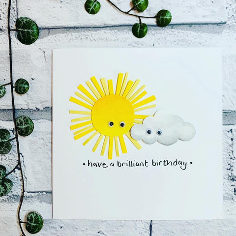 Have a brilliant birthday card, made in Bristol