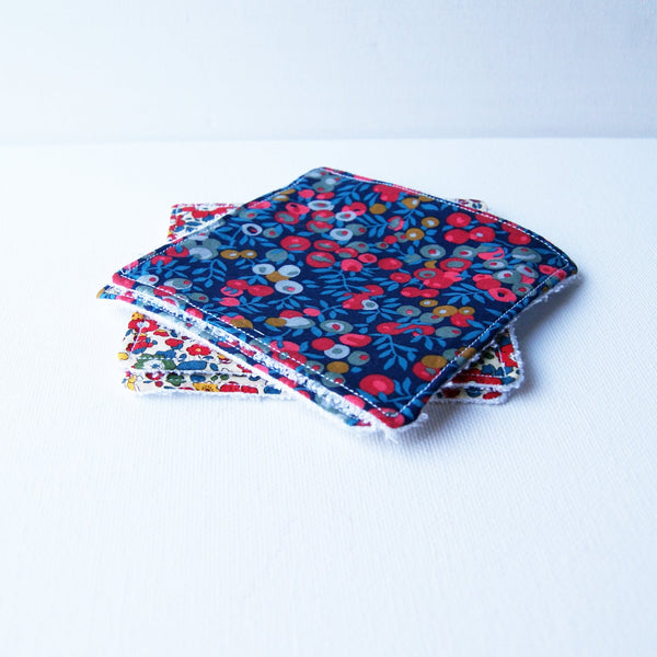 Reusable face pads/cleansing wipes.