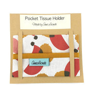 Pocket Tissue Holder handmade in Bristol