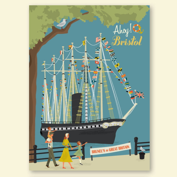 SS Great Britain Print