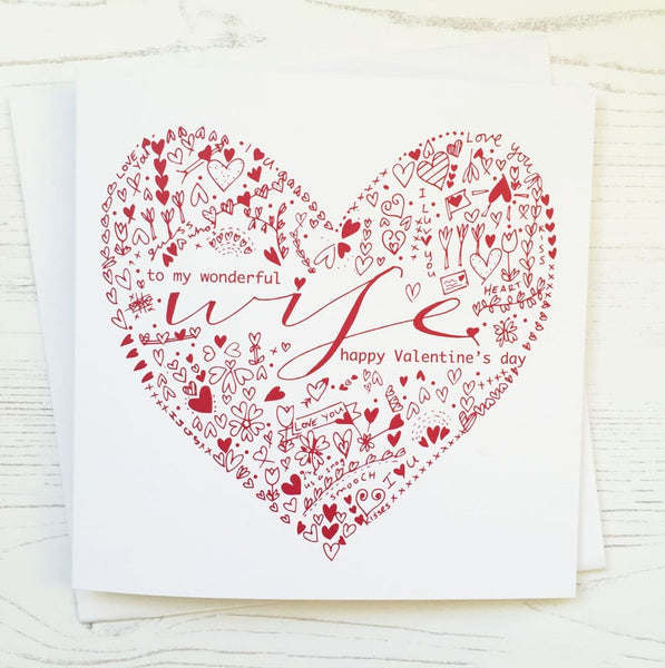 Wife Valentine's Card