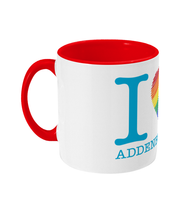 Load image into Gallery viewer, Two Toned I Love Addenbrooke's Mug