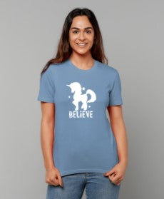 Believe Adult T-shirt