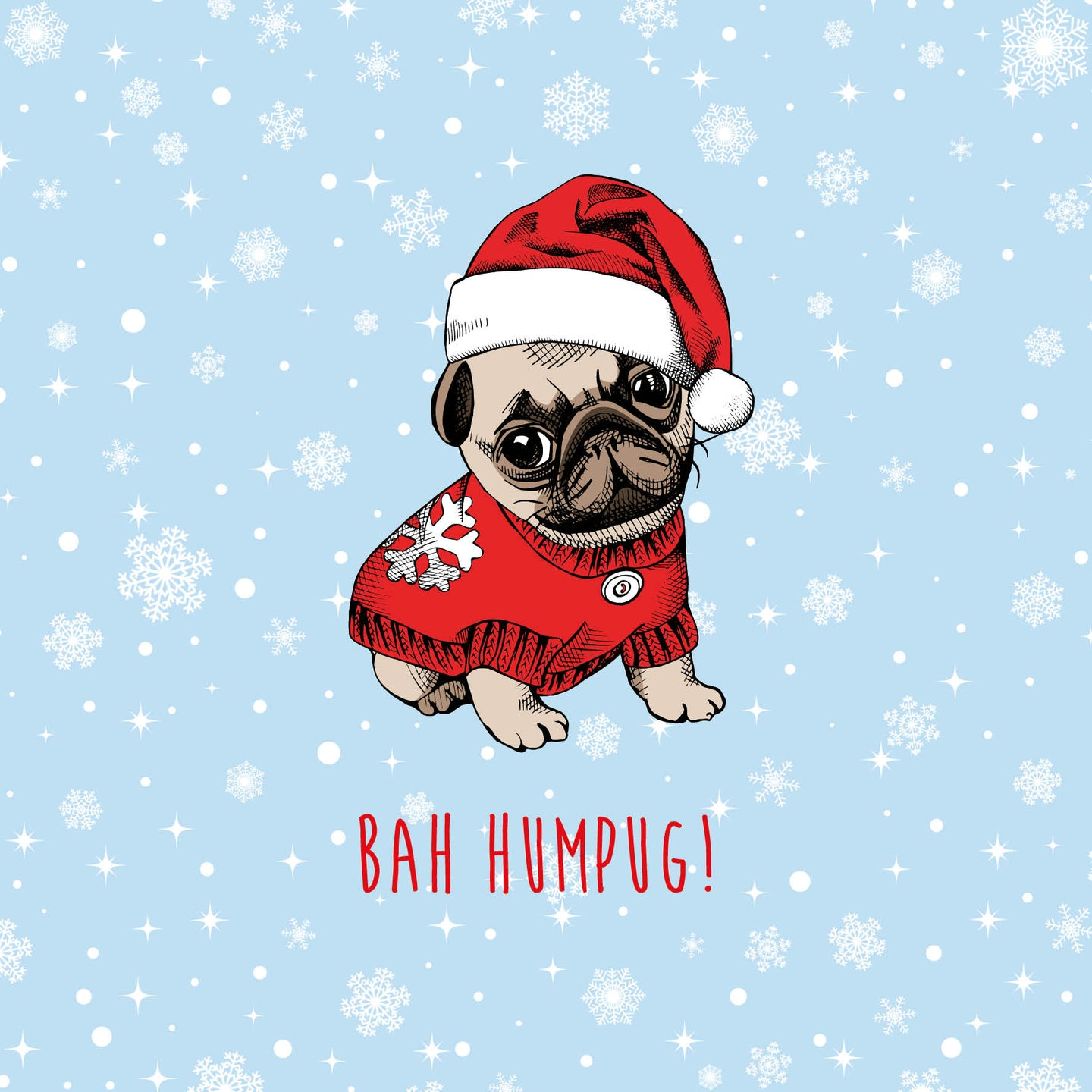 Funny Pooch Christmas Cards