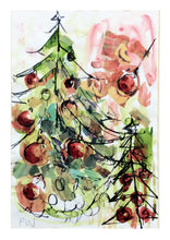 Load image into Gallery viewer, Watercolour Christmas Cards