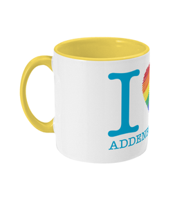 Two Toned I Love Addenbrooke's Mug
