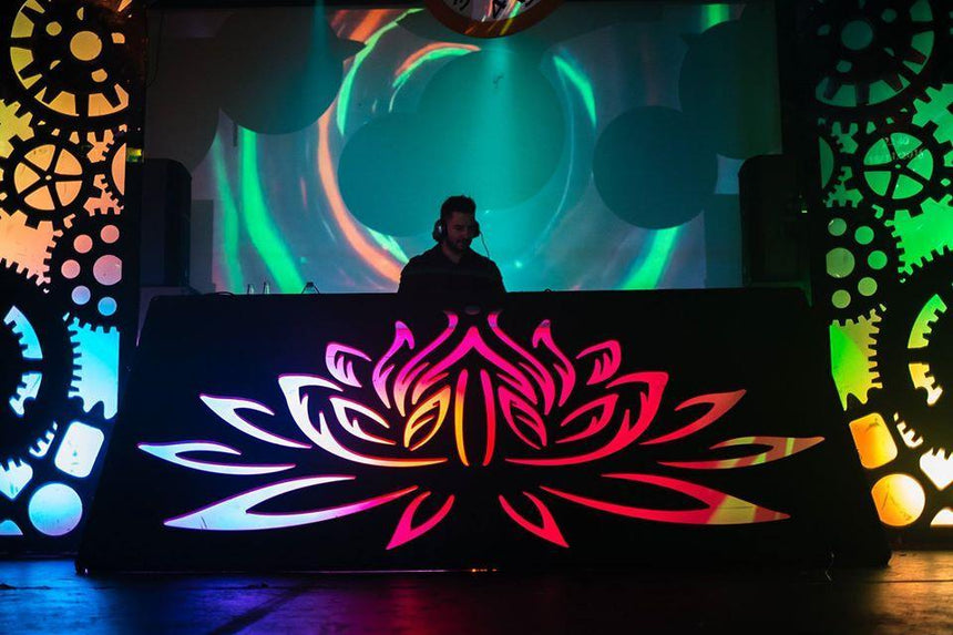 DJ and dj booth hire for events Hertfordhire, South East England and London