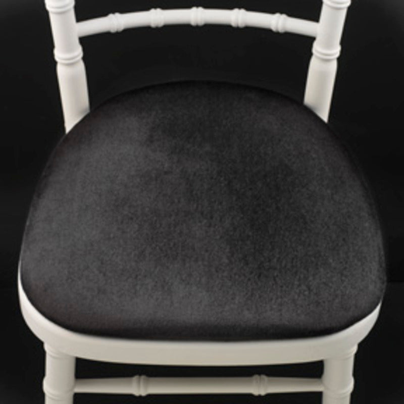 SILVER CHELTENHAM CHAIRS INCLUDING PAD