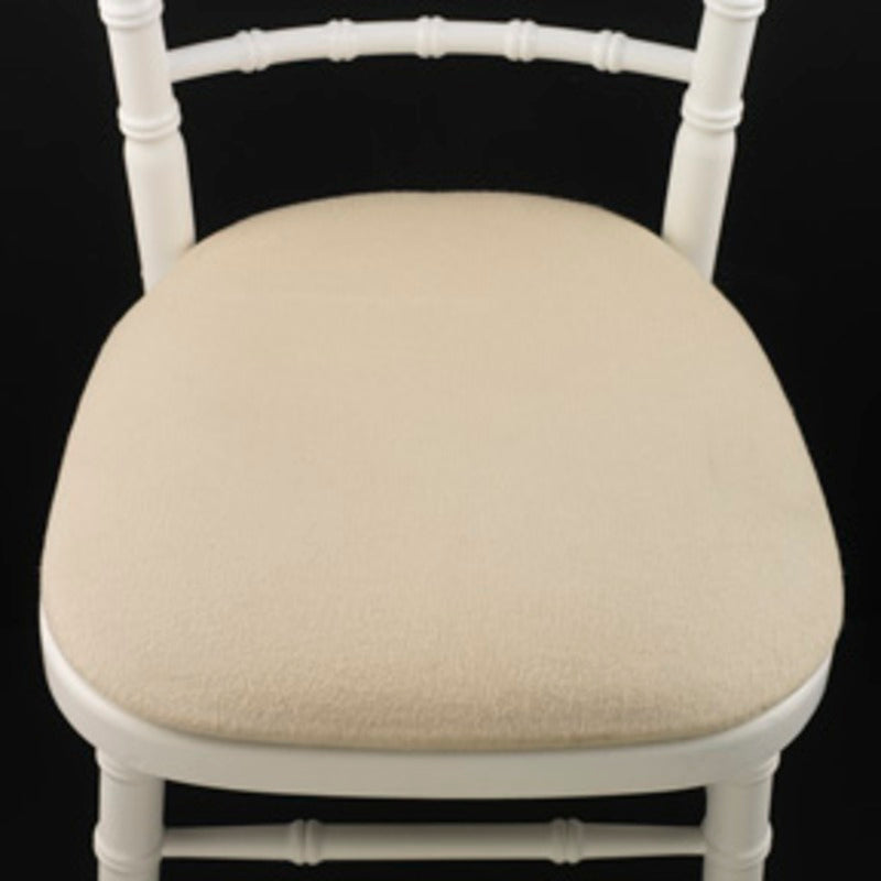 WHITE CHIAVARI CHAIRS INCLUDING PAD