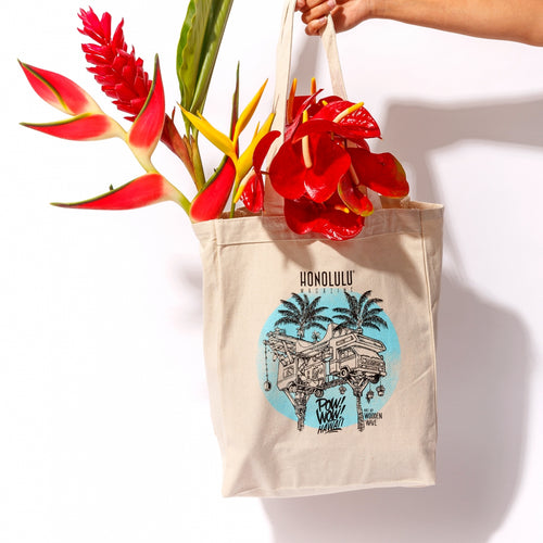 HONOLULU + Pow! Wow! Collaboration Tote