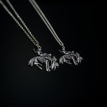 Load image into Gallery viewer, Large Bronco Necklace