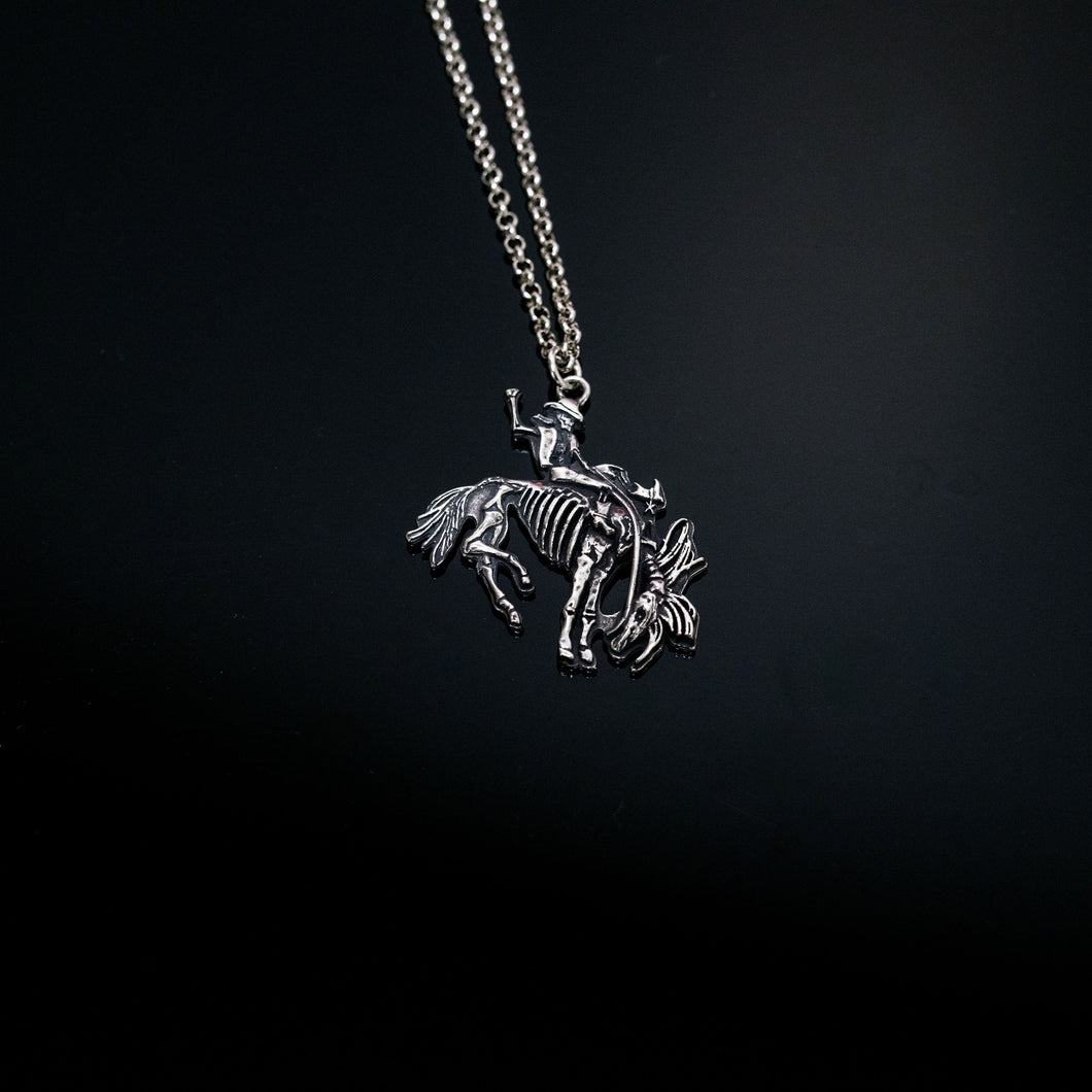 Large Bronco Necklace