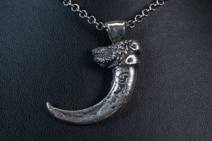 Medium Eagle Claw Necklace