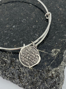 The One Bracelet pendant
