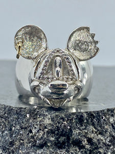 Cyclops Vampire Mouse Ring