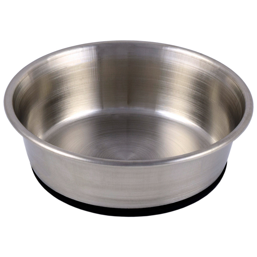 ARJAN STAINLESS STEEL RUBBERIZED BOWL 16CM
