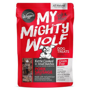 WAGGERS MY MIGHTY WOLF PORK 150G