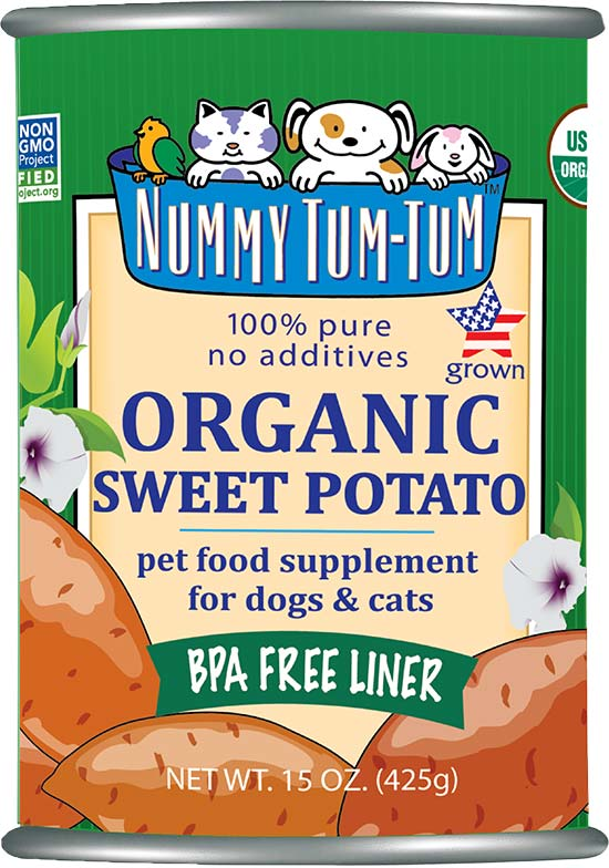 NUMMY TUM TUM ORGANIC SWEET POTATO PUREE 15OZ