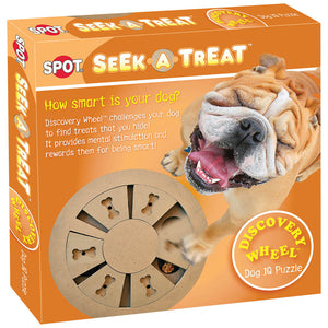 SPOT SEEK A TREAT WHEEL PUZZLE