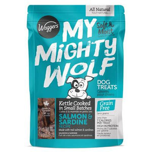 WAGGERS MY MIGHTY WOLF SALMON/SARDINE 150G