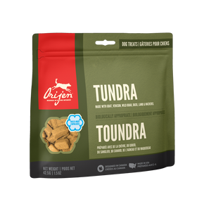 ORIJEN FREEZE DRIED TUNDRA TREAT 92G
