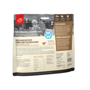 ORIJEN FREEZE DRIED BEEF TREAT 92G