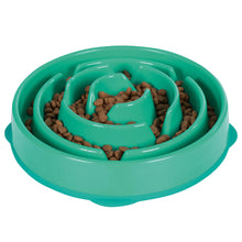Load image into Gallery viewer, OUTWARD HOUND FUN FEEDER DROP TEAL