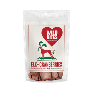 WILD BITES CHRISTMAS ELK AND CRANBERRY 120G