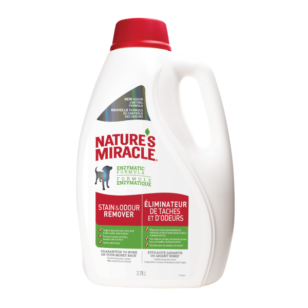 NATURES MIRACLE STAIN/ODOUR 3.78L